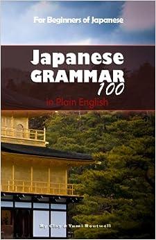 Book Japanese Grammar 100 in Plain English