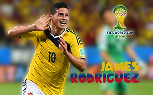 James Rodriguez poster 40 inch x 24 inch / 21 inch x 13 inch