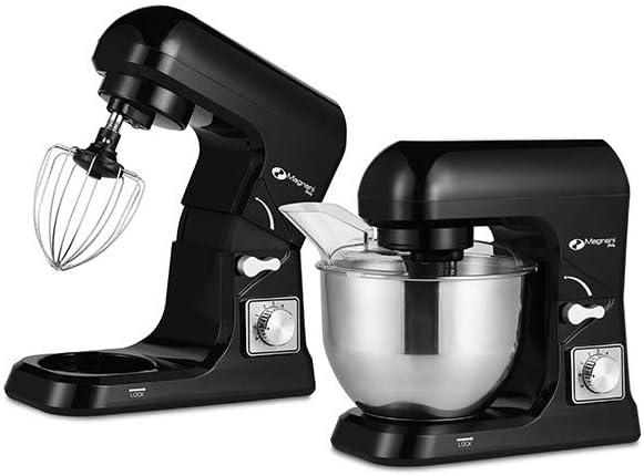 MAGNANI Robot de Cocina Negro 1000W, Robot de Cocina batidora 5L, Batidora Multifuncional con 3 Accesorios y Tapa, Batidora para Montar Huevos, amasar, Mezclar: Amazon.es: Hogar