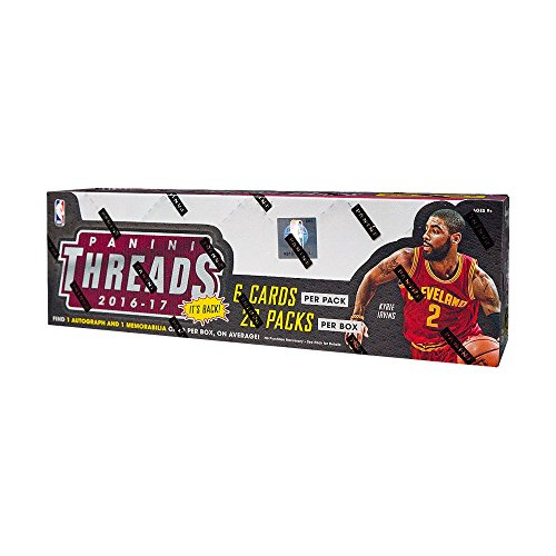 Legends Basketball Hobby Box - 2016-17 Panini Threads Basketball Hobby Box