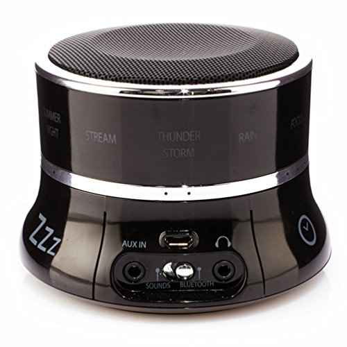 Brookstone Tranquil Moments Bedside Sleep Sound Machine & Bl