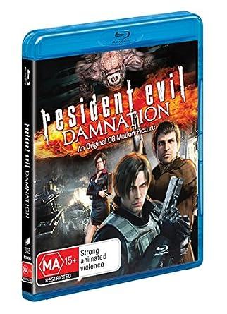 Amazon com: Resident Evil Damnation | NON-USA Format