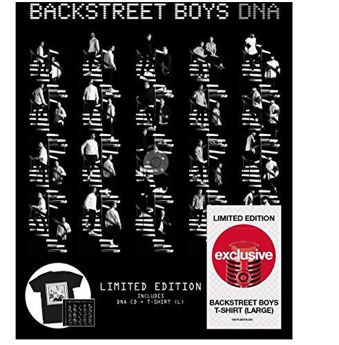 Price comparison product image Backstreet Boys DNA Exclusive T-Shirt / CD Bundle