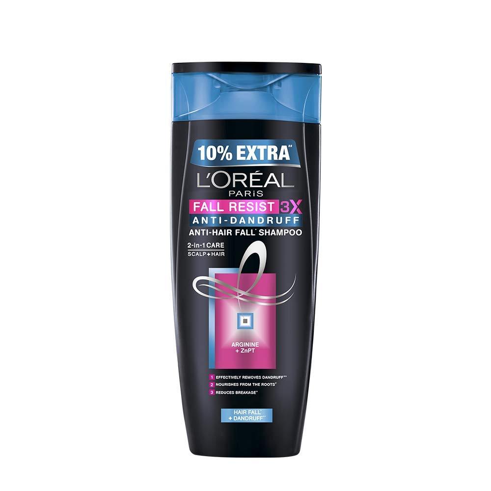 L'Oreal Paris Fall Resist 3X Anti-dandruff Shampoo, 360ml