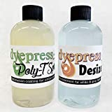 Dyepress Poly T-Spray Sublimation Coating + Desizer for T-Shirts (Each Concentrate Makes 16 oz. of Spray): more info