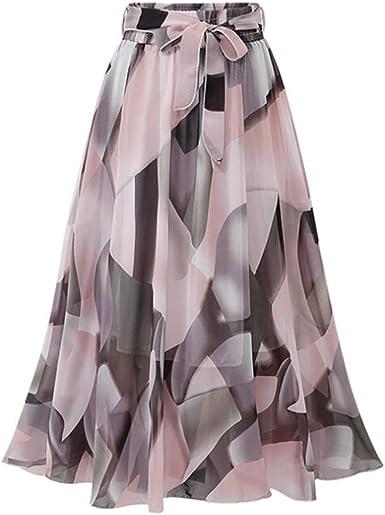 Qijinlook 💖 Faldas largas Fiesta Mujer/Faldas largasfiesta ...