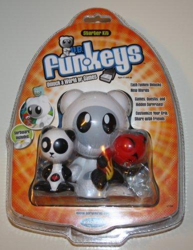 - Radica U.B. Funkeys Computer Game Starter Kit with Lotus and Deuce Plus Software CD (L7288)