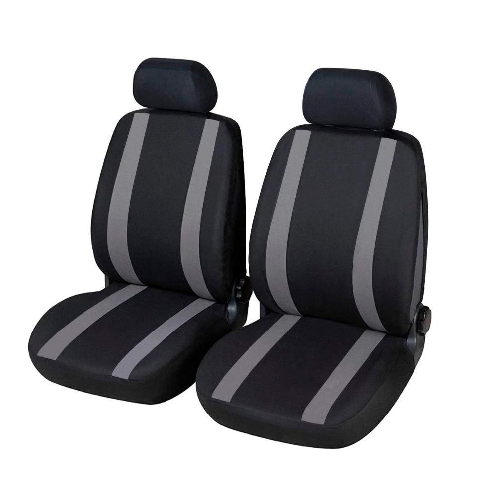 compatibili con sedili con airbag 2008-2013 Coprisedili Anteriori C4 Picasso Versione con Fori per i poggiatesta e bracciolo Laterale Articolo K78