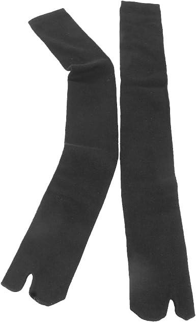Footful 1Par 2-Dedo Calcetines Chanclas Tabi Zuecos Cosplay Socks ...
