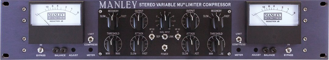 Manley Stereo Variable Mu Limiter Compressor with HP SC Included
