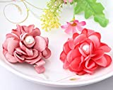 Pyrsun(TM) Cute Design Baby Hairpins Children Flower Hair Accessories Baby Peony Floral Pearl Headwear Girls Gift Baby Lovely Hair Clip