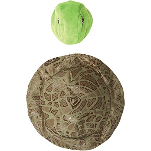 [Ethical Lookin' Good! Fashion Pet Turtle Costume Soft Fluffy Yarn X-Small/Small] (Pet Turtle Costumes)