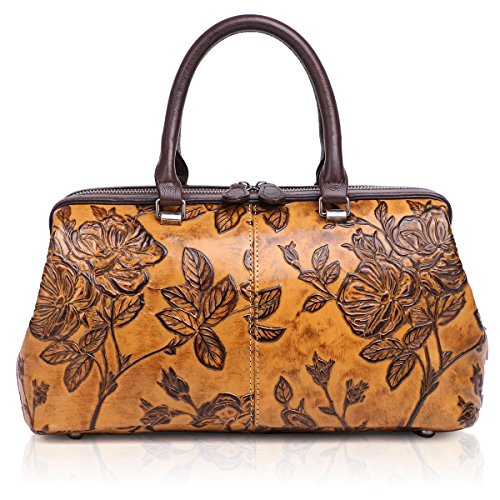 APHISON Womens Handbags Ladies Purses Design Embossing Satchel Shoulder Bags Tote Bag 83300