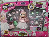 Shopkins Shoppies BRIDIE Exclusive Super Shopper Pack - Bride Doll Wedding Fashion Shopping Spree (20+ Pieces)