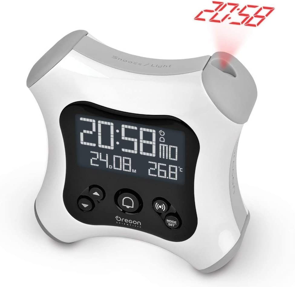 Oregon Scientific RM330P - Despertador digital retroiluminado ...