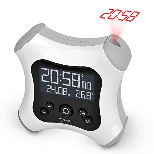 Oregon Scientific RM330P - Despertador digital retroiluminado ...