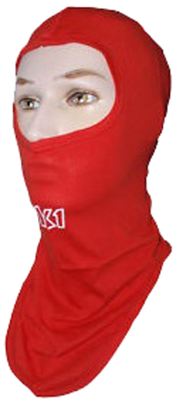 Balaclava K1 Race Gear 701431 Red Cotton Full Face Head Socks