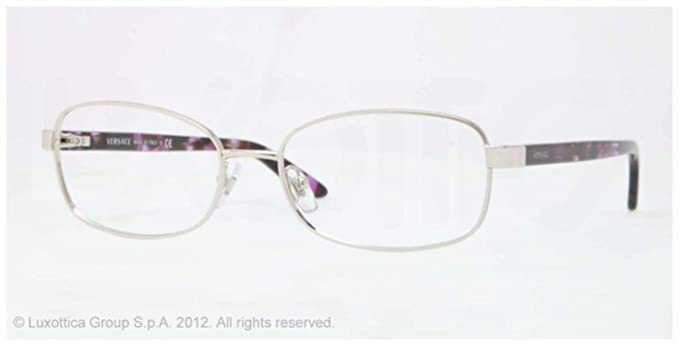 ce71c889fc81c Image Unavailable. Image not available for. Color  Versace VE1213 Eyeglasses -1000 ...