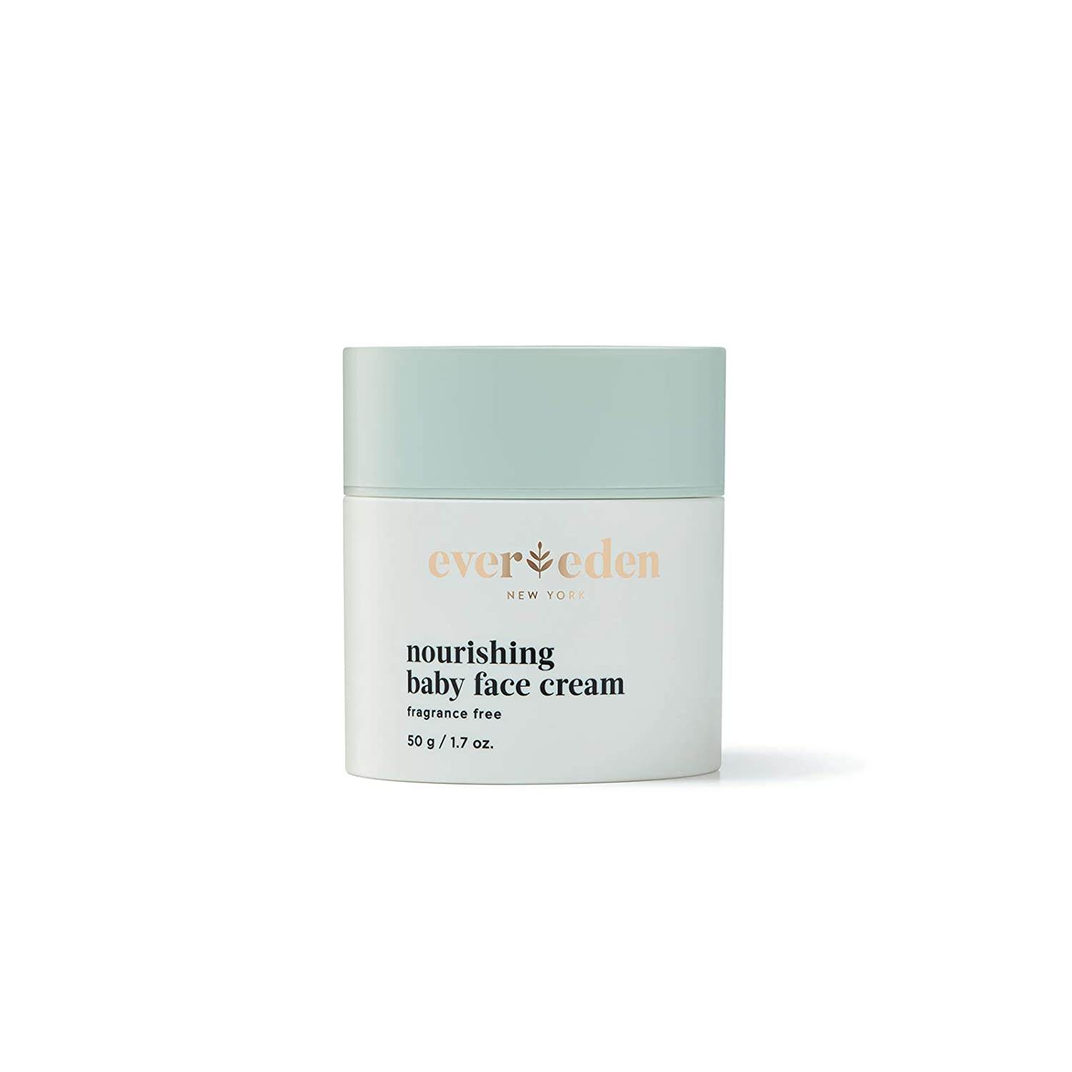 Evereden Nourishing Baby Face Cream, 1.7 oz | Clean and Unscented Baby Care | Natural and Plant Based | Non-toxic and Fragrance Free