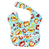 Bumkins Waterproof SuperBib, Owls (6-24 Months)