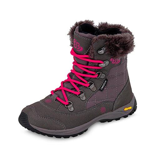 Brütting 721028 - Zapatillas de senderismo de nailon para mujer gris
