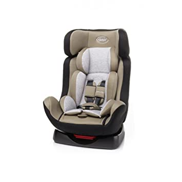 4baby Freeway 0-25 kg Reclining Car Seat, Group 0/1/2, Beige: Amazon