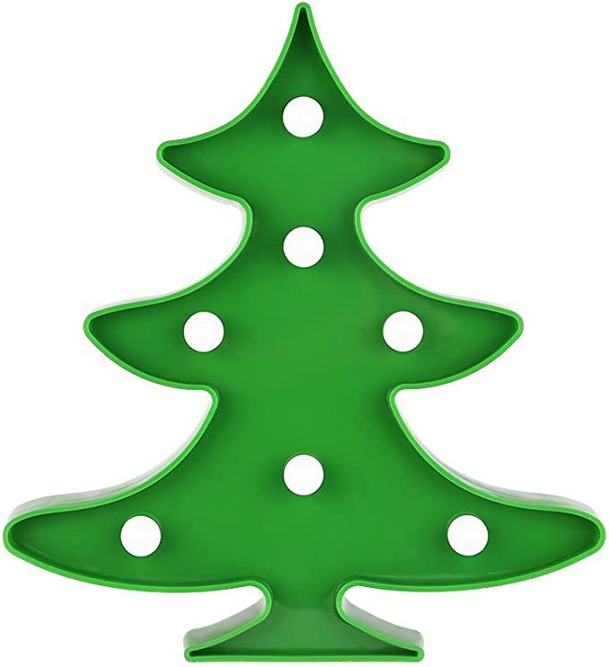 Árbol de navidad Luces nocturnas LED para niños Luces nocturnas ...