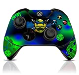 (TMNT) Custom Xbox One Controller with Exclusive Design Vinyl Skin Decal Uniquely Hand Painted and Air-Brushed For Sale
