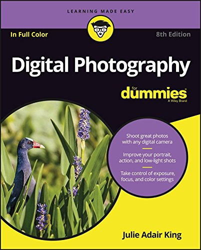 Digital Photography for Dummies (8th 2016) [King]