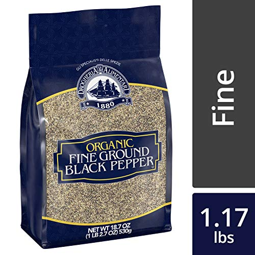 Drogheria & Alimentari Organic Fine Ground Black Pepper, 18.7 oz by Drogheria & Alimentari (Image #7)