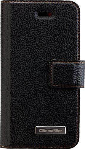 PETER JÄCKEL COMMANDER Book & Cover schwarz für Apple iPhone 5/ 5S