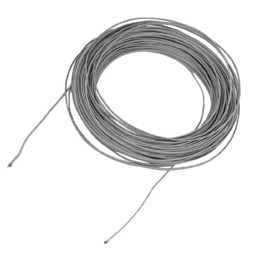 Thermocouple Wire Product : M silver tone metal k type thermocouple extension wire