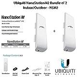 Best Ubiquiti Networks Network Routers - Ubiquiti NanoStationM2 Bundle of 2 NanoStationM Indoor/Outdoor airMAX Review