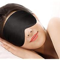 [ Premium kwaliteit] Slaapmasker oogmasker slaapbril, 100% natuurlijke zijde Natural Night © – okulptuur – zacht, lange…