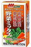 南日本酪農協同 OH!宮崎野菜ミックス 125ml×24本