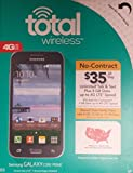 Total Wireless - Samsung Galaxy CORE PRIME 4G LTE Prepaid Cell Phone - Black
