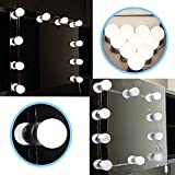 12 volt fry pan - LIAN--Vanity LED Mirror Light Kit for Makeup Hollywood Mirror with Light