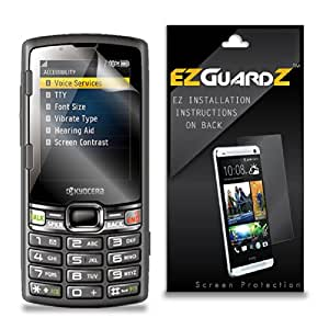 (1-Pack) EZGuardZ Screen Protector for Kyocera Contact (Ultra Clear)