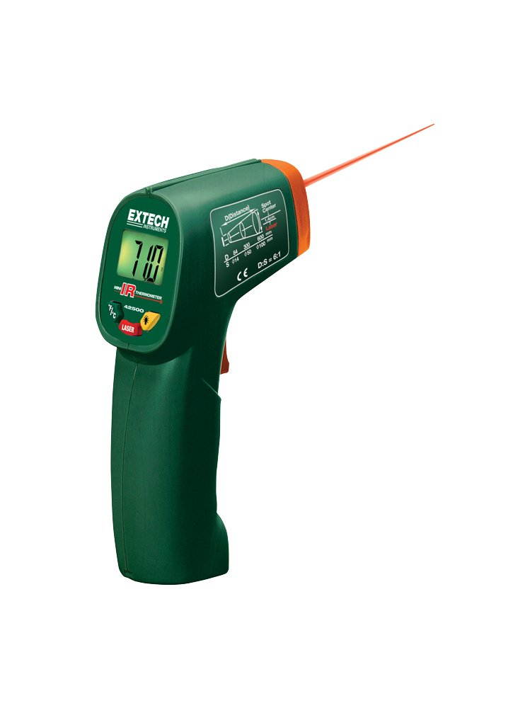 Extech 42500-NIST Mini Infrared Thermometer with NIST
