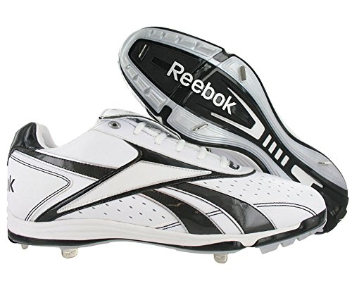 mm Metal White Low Vero Silver Size Black Shoes IV BSBL Reebok Mens Baseball txqpBw4XXC