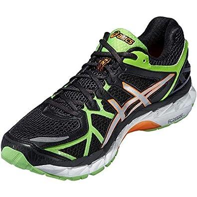 super popular 9541b 3146f Asics K Run Gel-Kayano 21 Running For Men - Black   Green