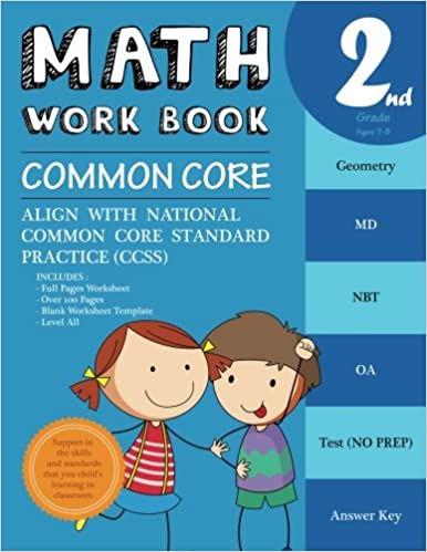 2nd Grade Math Workbook Common Core Math: Math Workbook Grade 2 ...