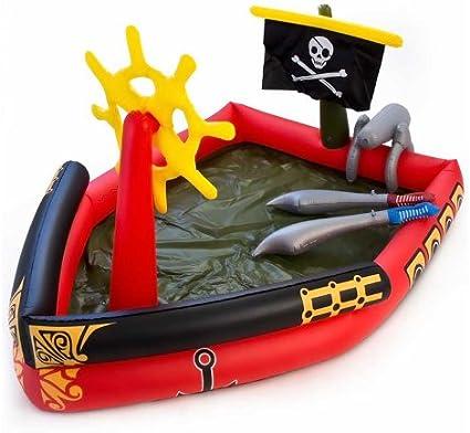 Piscina barco pirata 191x140x97cm: Amazon.es: Juguetes y juegos