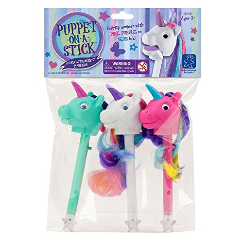 Educational Insights Rainbow Prancers Puppet