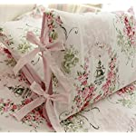 FADFAY-Rose-Floral-4-Piece-Bed-Sheet-Set-100-Cotton-Deep-Pocket-Queen