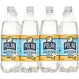 Polar Seltzer 33.8 Fl. Oz, (Pack of 12) (Vanilla)