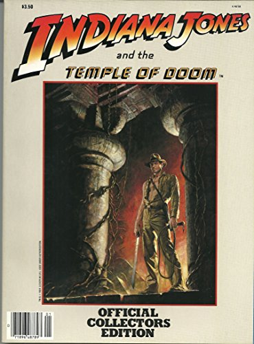 Indiana Jones and the Temple of Doom; Official Collectors Edition (Indiana Jones And The Temple Of Doom Full)