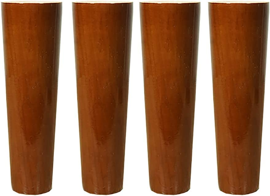 4 Piezas,Incluye Tornillos De Montaje sof/ás ZYFA Patas para Muebles Pata de Muebles De Madera,de Mesa piernas,para mesas de Comedor armarios mesas de caf/é etc