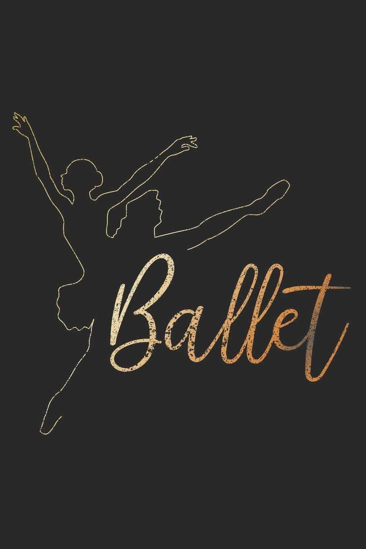 Notizbuch  Ballett Ballerina Notizheft Liniert A5 I Journal Tanzen Gymnastik I Tagebuch Klassischer Tanz I Notizbuch Als Geschenk Für Mädchen Tänzerin
