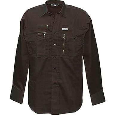 9cefa886e5d7 Commando Industries CI Langärmliges Traveller Hemd mit vielen Taschen  Outdoorhemd Reisehemd Freizeitshirt Verschiedene Ausführungen  Amazon.de   Bekleidung